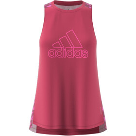adidas OWN The Run Celebration Tank Top Women, wild pink